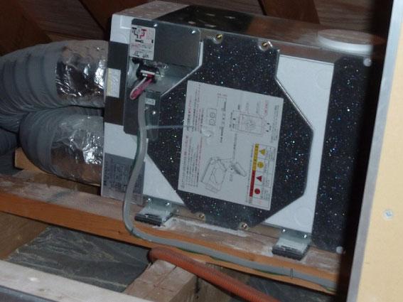 第3種換気システム排気ファンユニット