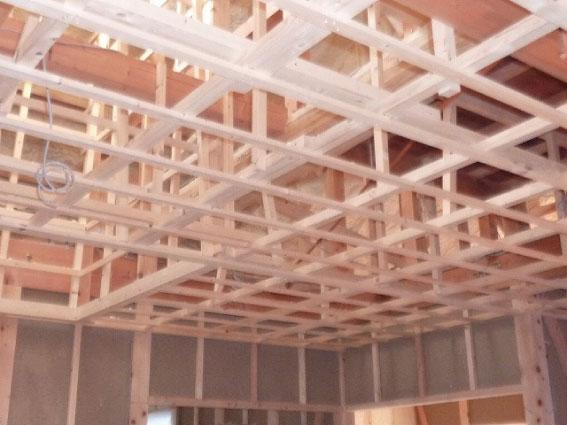 天井窓の下地2