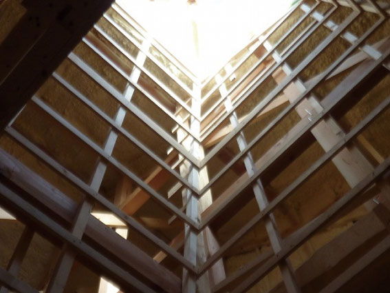 天井窓の下地