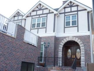 赤レンガの輸入住宅と空気清浄機付き全館空調の家