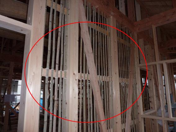 内壁は竹1