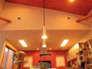 ダイニングキッチン 壁吹出口(二重ノズル150φ)