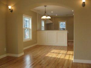 2階はリビング、ダイニング、キッチンがあり開放感に満ちています。
