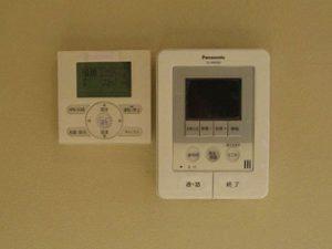 空調リモコンコントロールスイッチ(左)です