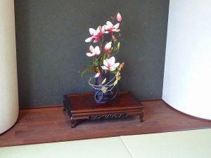 マリナ通り住宅展示場の花
