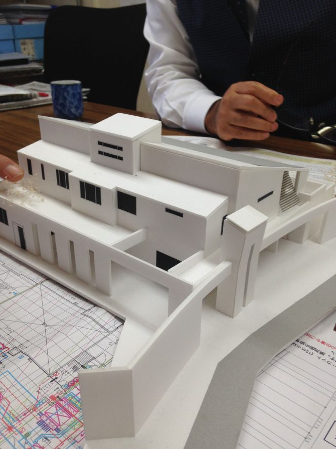 ecocoti導入の家の模型