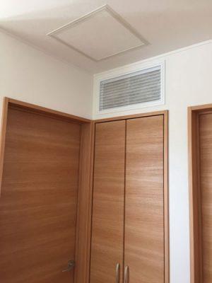 集中排気口 壁付けタイプ